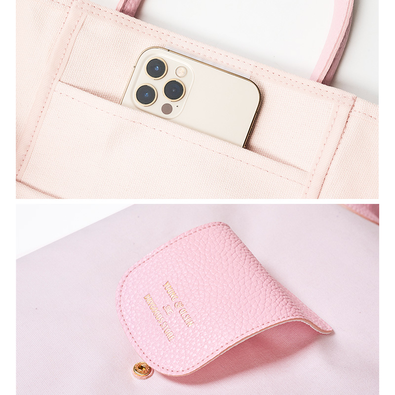 YOUNG & OLSEN The DRYGOODS STORE PACKABLE BAG BOOK PINK SPECIAL PACKAGE ver.
