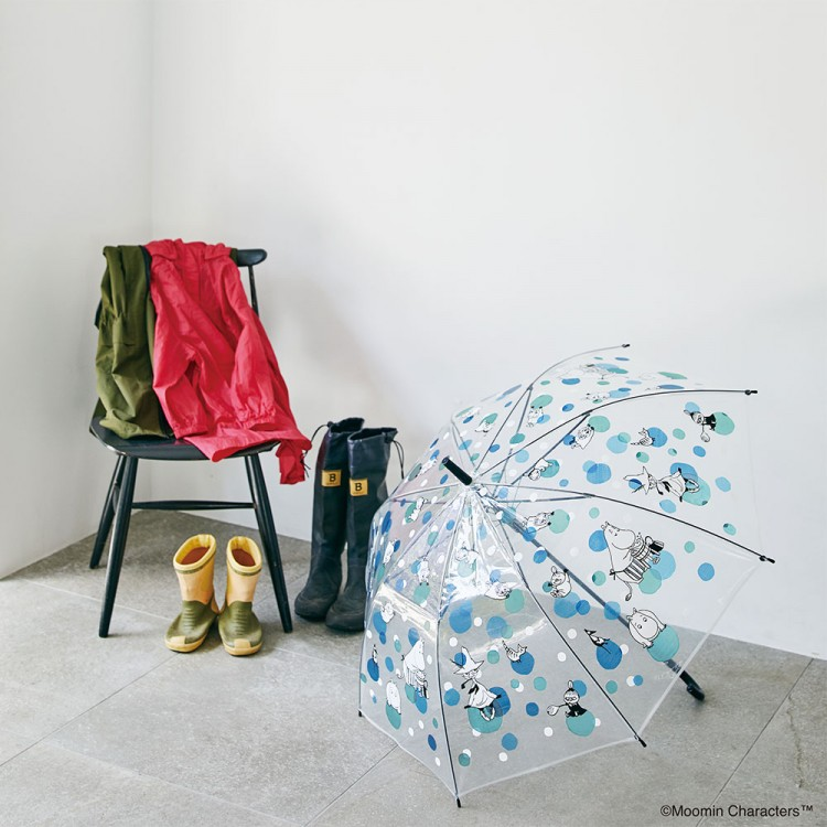 MOOMIN UMBRELLA BOOK -LIMITED-:6/10発売【ローソン・HMV限定付録】MOOMIN(ムーミン)傘