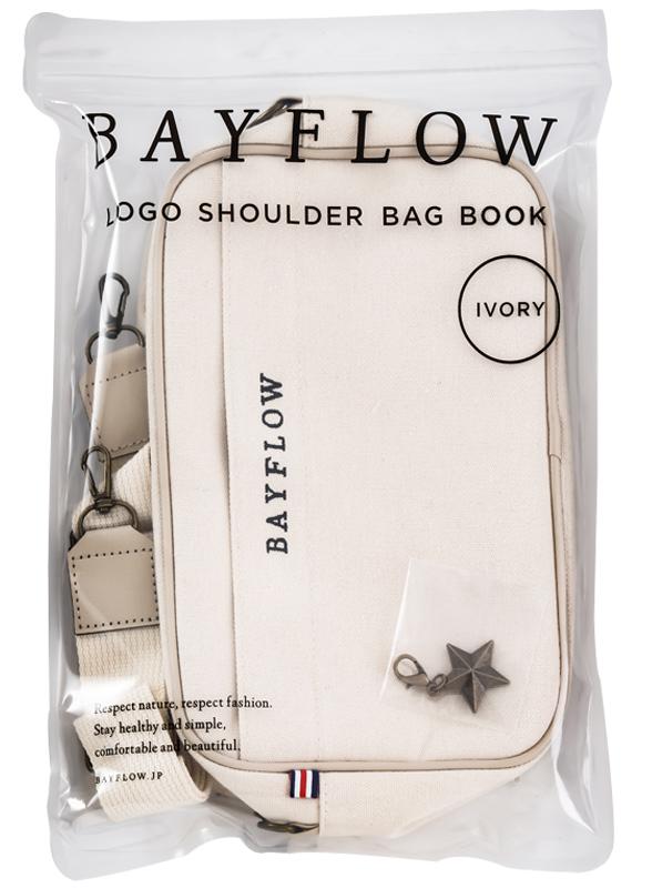 BAYFLOW LOGO SHOULDER BAG BOOK IVORY