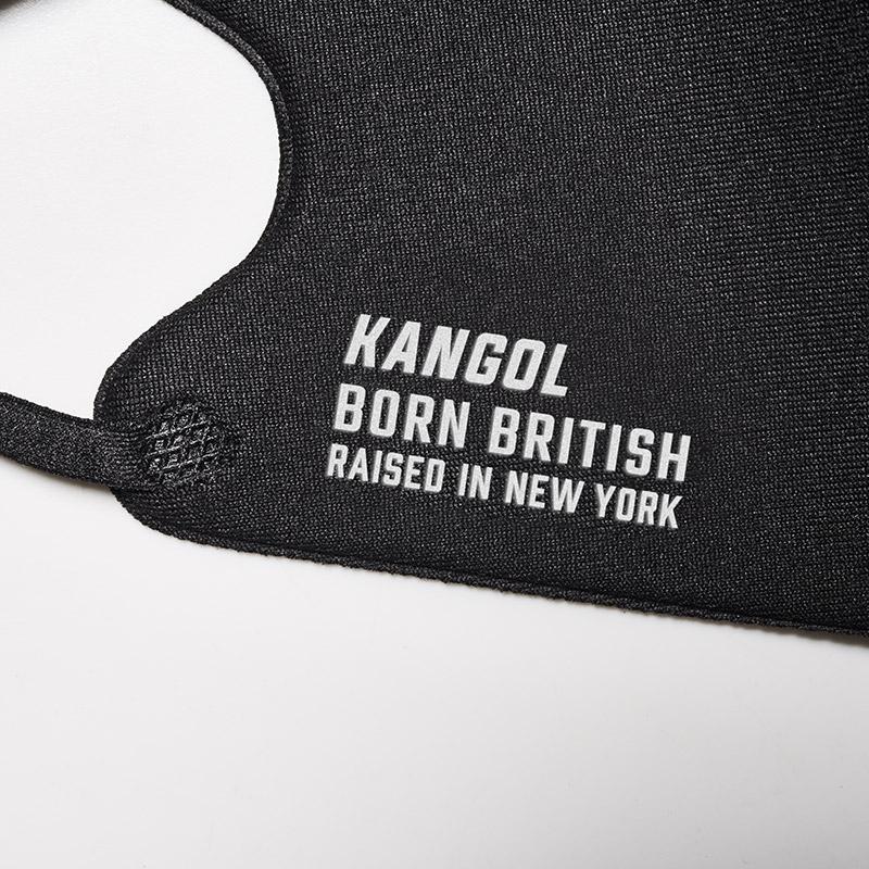 KANGOL 洗える冷感マスク BOOK BLACK ver.
