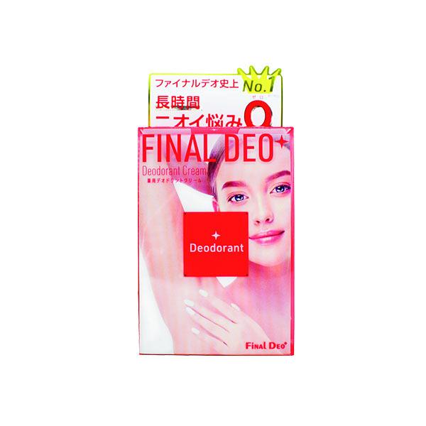 ファイナルデオプラス 薬用デオドラントクリーム