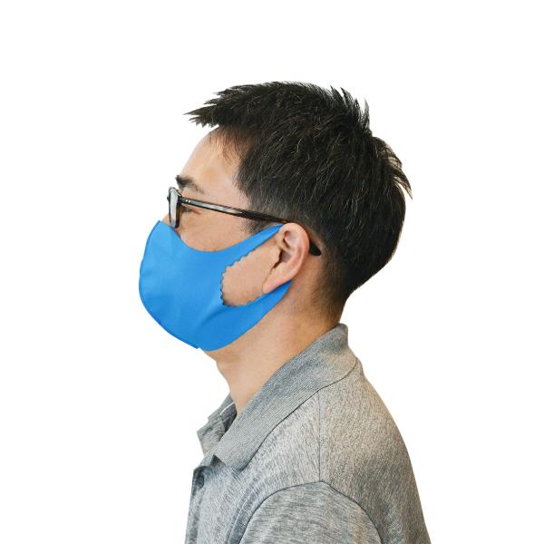ノンウィル ひんやりマスク 【ホワイト Mサイズ】
