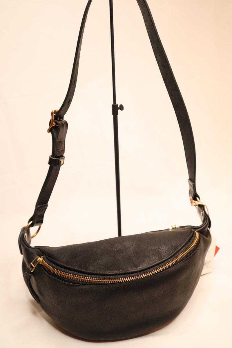 rubono leather -fanny pack