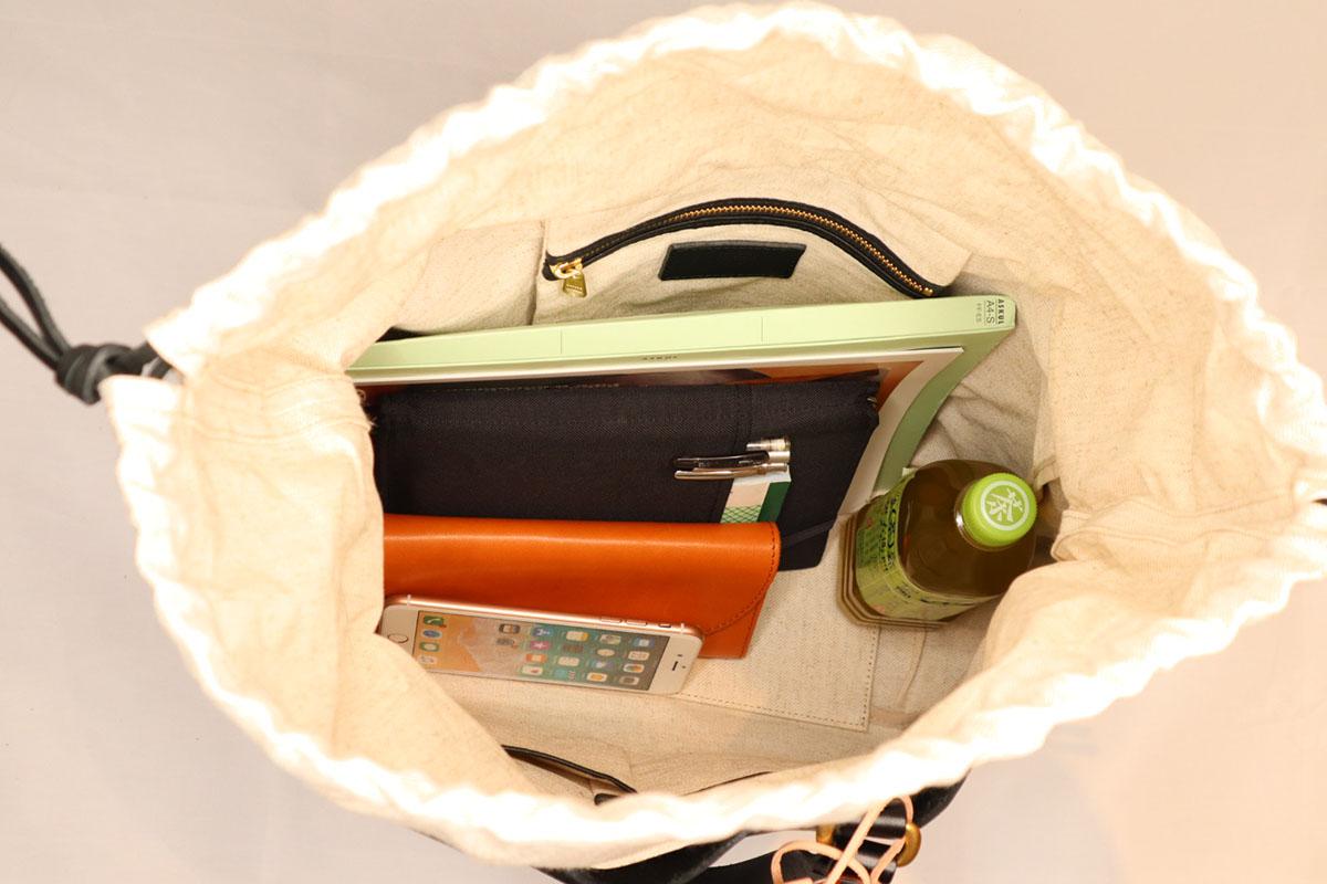 bono -tote bag width type