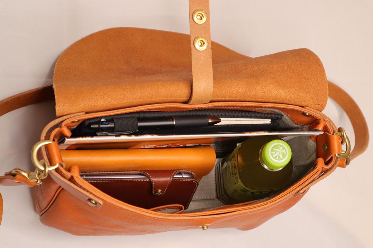 bono - flap shoulder bag L size