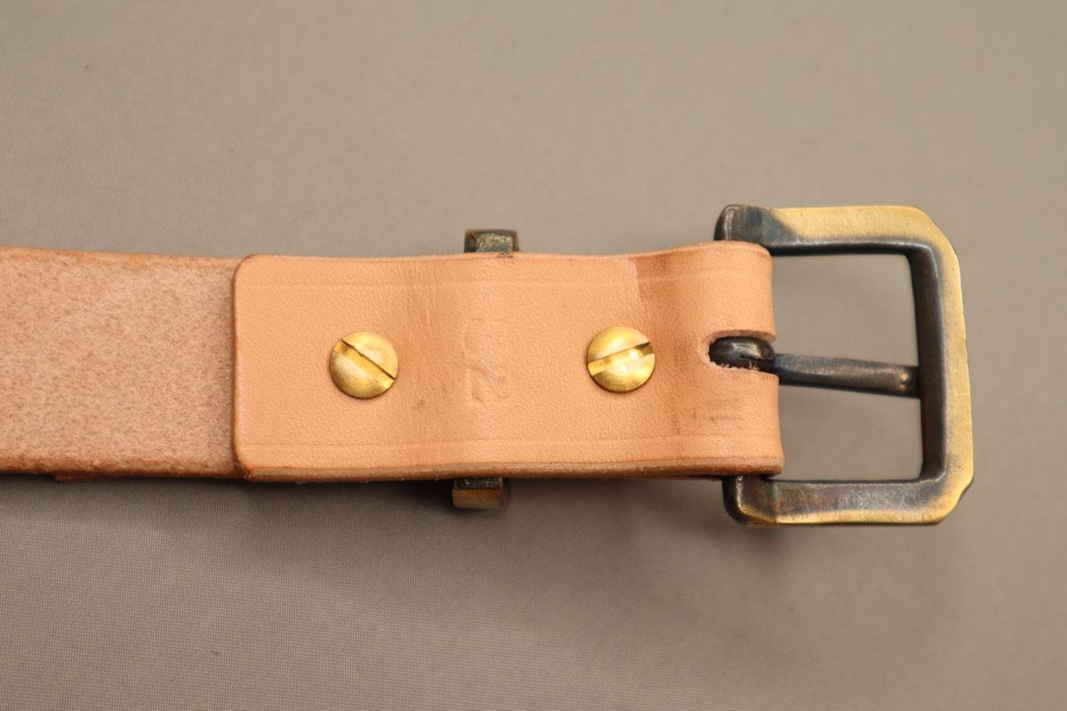 ネン引き32mmサルカン付きベルト