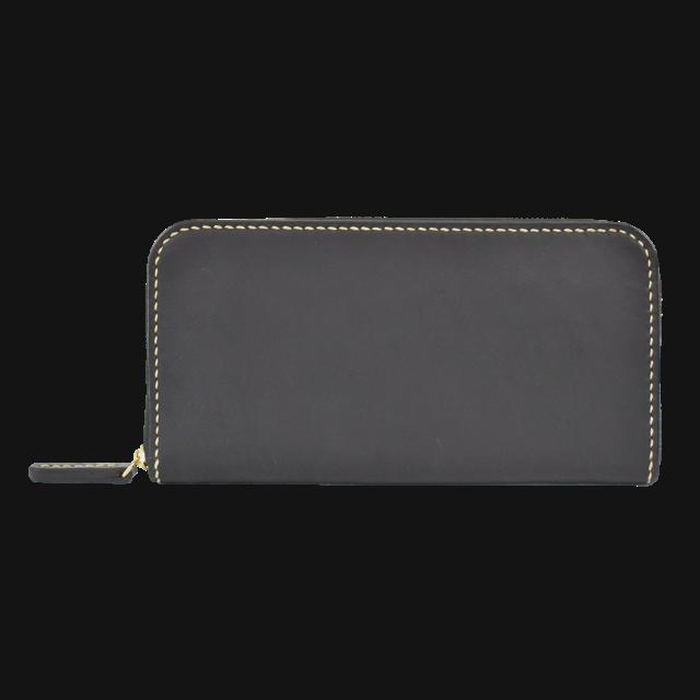 Round zip wallet 01 (ラウンドジップウォレット/長財布)