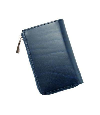 L字ファスナー二つ折り財布