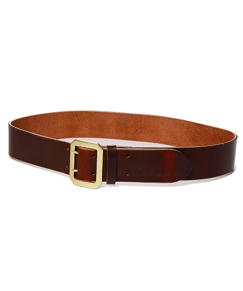 OIL LEATHER DOUBLE PIN BELT50mm (TBLS2002)