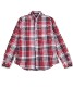 【women's】VINTAGE WASH MADRAS CHECK SHIRTS(TWSS2001)