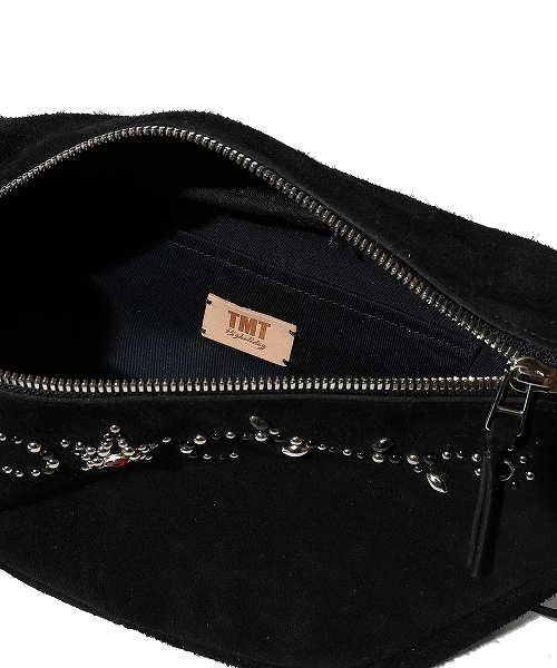 HAND STADS SUEDE LEATHER BAG (TBAS2101)