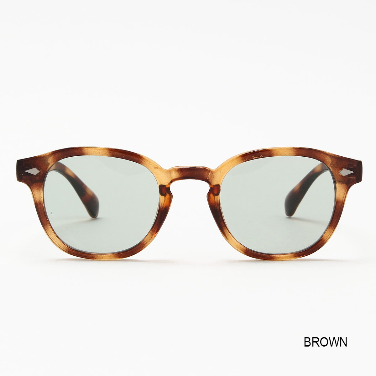 WELLINGTON-TYPE SUNGLASSES(BROWN&SMOKE) TACS20SP03