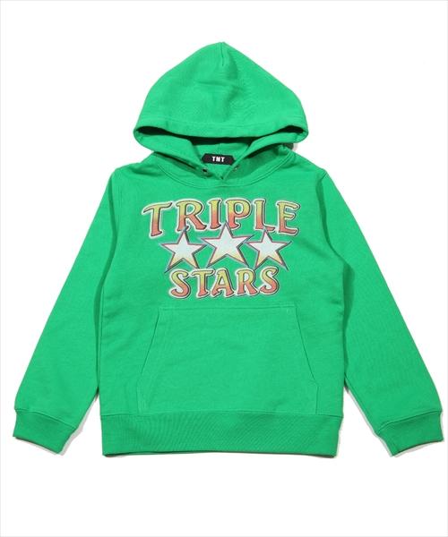 FRENCH TERRY KIDS HOODIE(TRIPLE STAR)TKSF18SP01