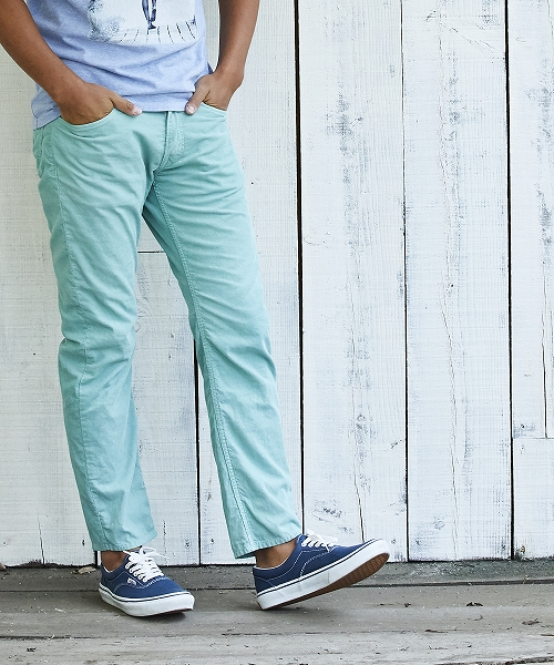 CORDUROY 5P CROPPED TAPERED (TPTS2108)