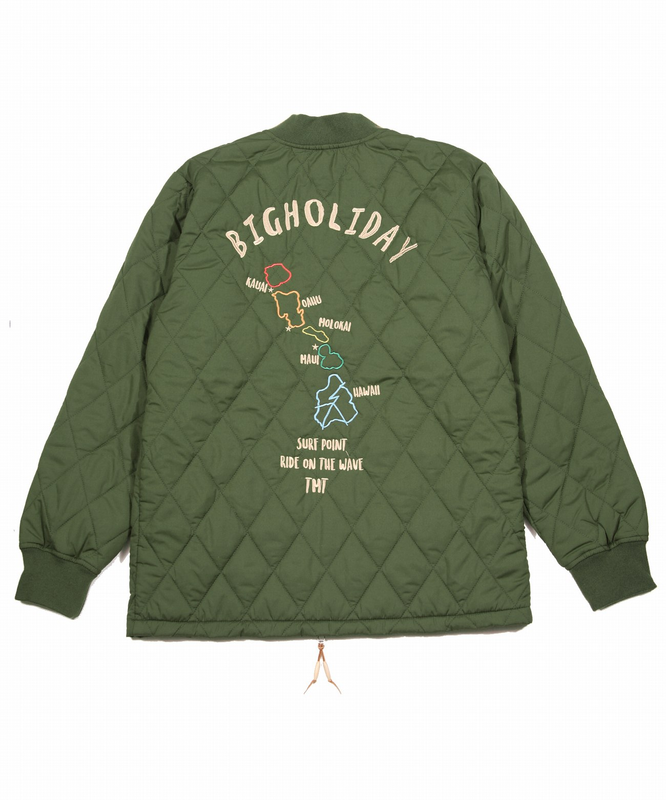 HAWAII SURF MAP SOUVENIR JACKET(TJKS19SP02)