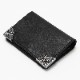 SILVER STAR LEATHER HALF WALLET(TACF20SP03)