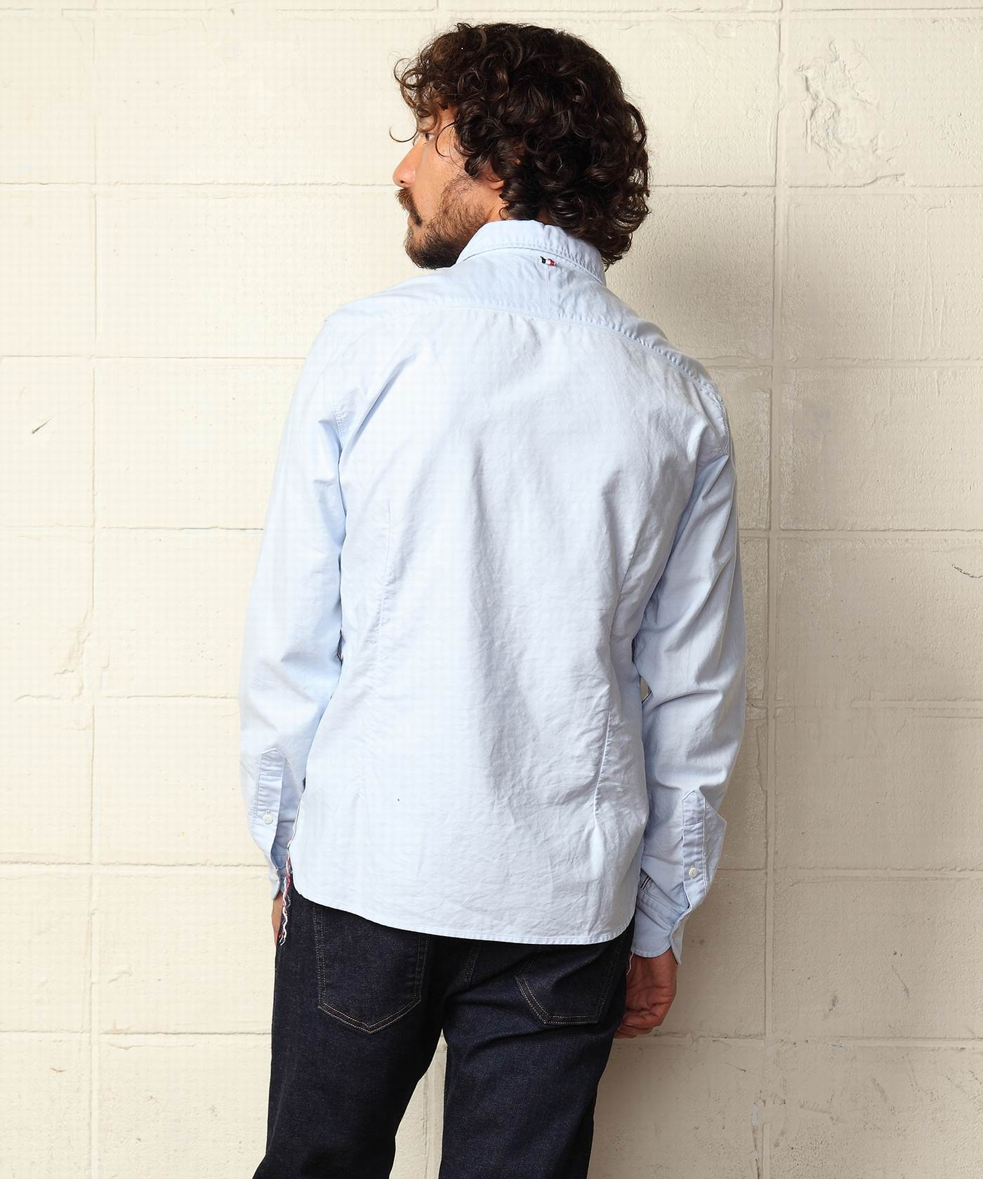 【菅田将暉さん着用】SUPIMA-COTTON OXFORD SHIRTS(TSHS1903)