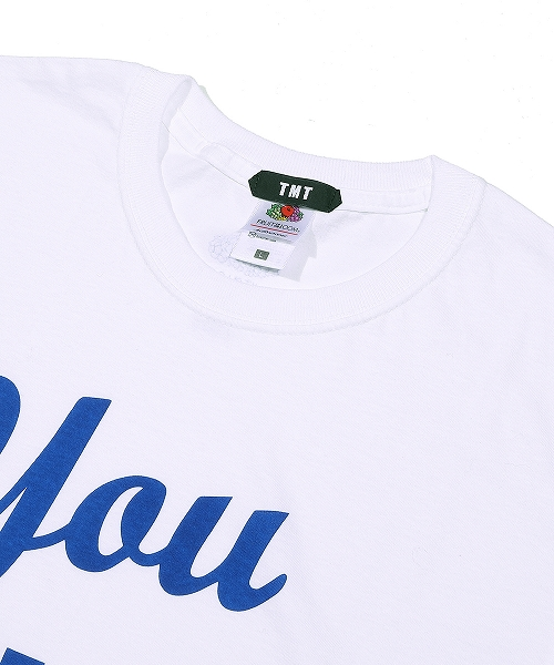 【TBS ドラマ「この恋あたためますか」着用】TMT×FRUIT OF THE LOOM TEE (You ARE MY BH)TCSS20FL06
