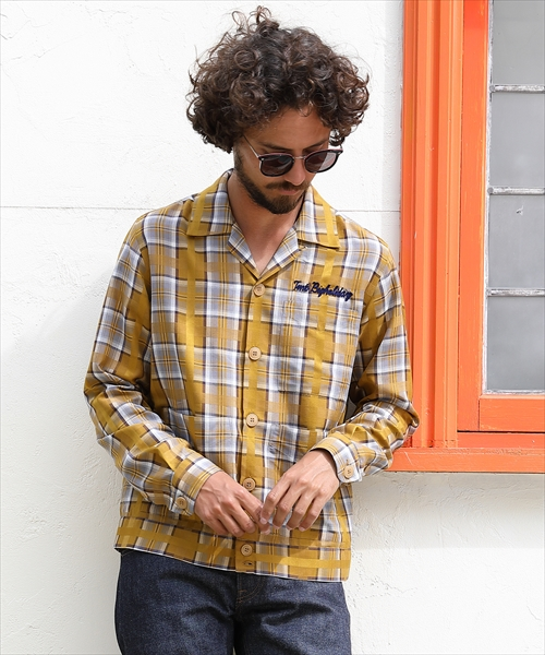 【ずん飯尾さん着用】SHORT LENGTH CUBA SHIRTS JACKET(TSHS2005)