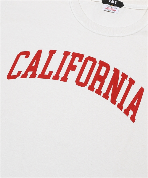 TMT×FRUIT OF THE LOOM FRUITS-DYED TEE(CALIFORNIA)TCSS20FL04