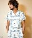 【雑誌Men's JOKER 2月号掲載商品】BANDANA EMBROIDERY S/SL SHIRTS TSHS1811 シャツ