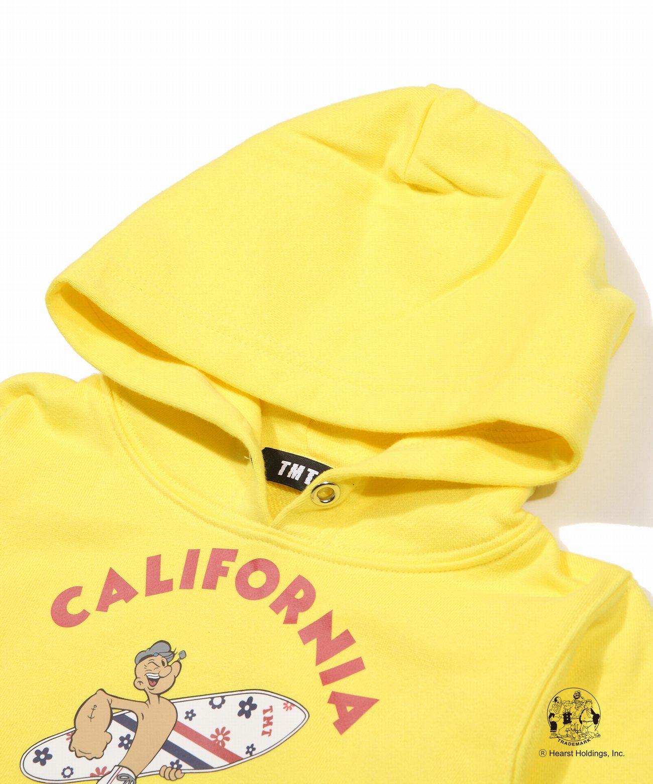 POPEYE(R)×TMT KIDS PULLOVER HOODIE(CALIFORNIA)TKSS19PE02