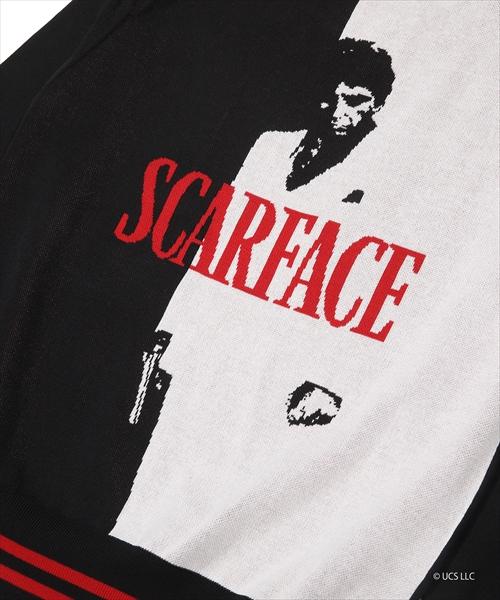 SCARFACE×TMT JACQUARD KNIT PULLOVER(TKNS20SF01)