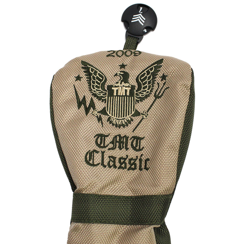 【雑誌「ワッグル」7月号掲載商品】TMT CLASSIC HEAD COVER ヘッドカバー(FW) TACS17CL02
