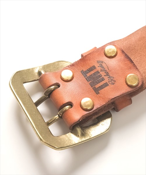 TMT×FUNNY VINTAGE COWLEATHER BELT(DOUBLE PIN 50mm)TBLS19FN01