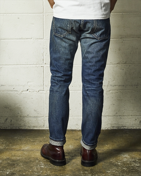 HQ DENIM 5P CROPPED TAPERED(REAL-VINTAGE FINISHED) (TPTF2001)