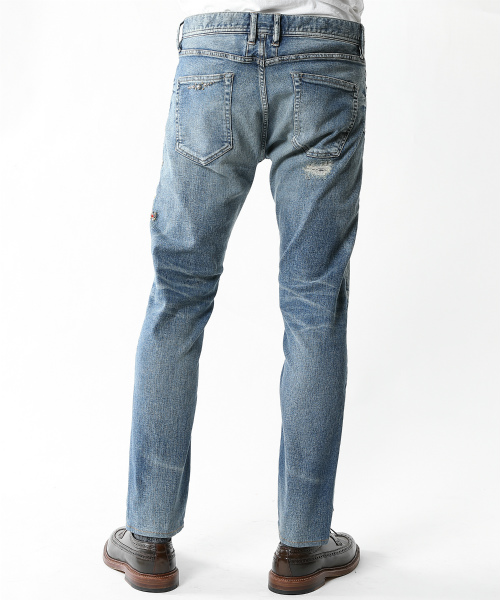 【SixTONES ジェシーさん着用】HYBRID-STRETCH DENIM 5P CROPPED TAPERED(FLOWER STUDS) TPTF2004
