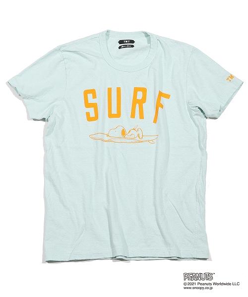 PEANUTS×TMT RAFI JERSEY TEE(SURF) TCSS21PN02