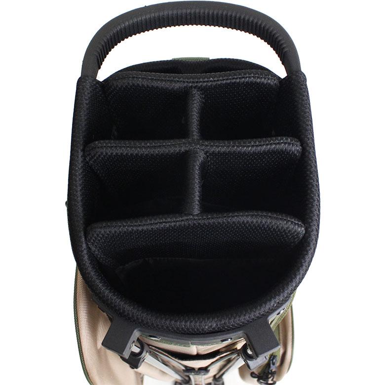 【雑誌「ワッグル」7月号掲載商品】TMT CLASSIC BALLISTIC STAND CADDIE BAG(TBAS17CL03)