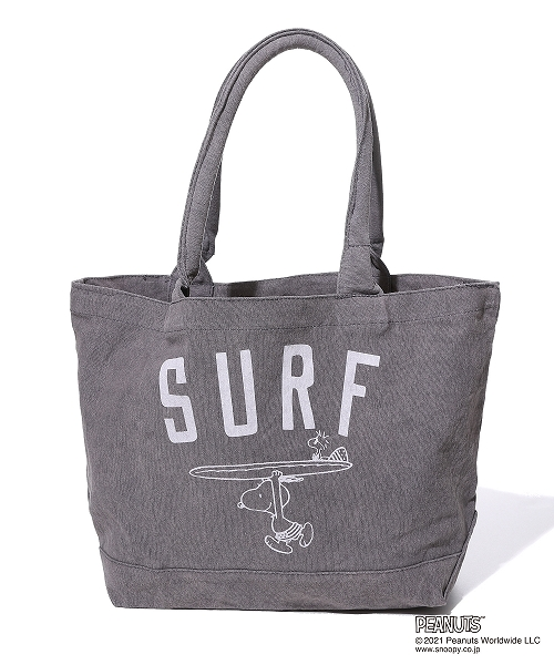 PEANUTS×TMT CANVAS BAG(SURF) TBAS21PN01