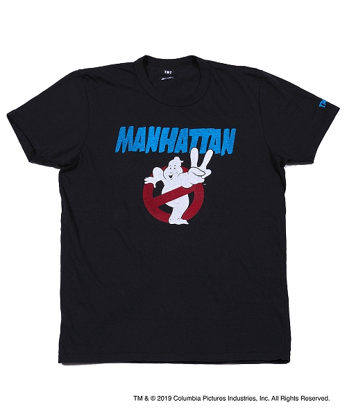 GHOSTBUSTERS×TMT S/SL TEE(MANHATTAN)TCSS19GB01