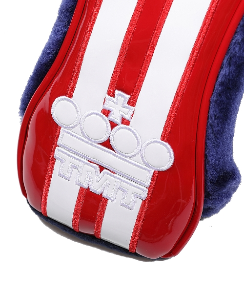 U.S.FLAG ENAMEL LETHER HEAD COVER (FOR FW)(TACF20CL02)