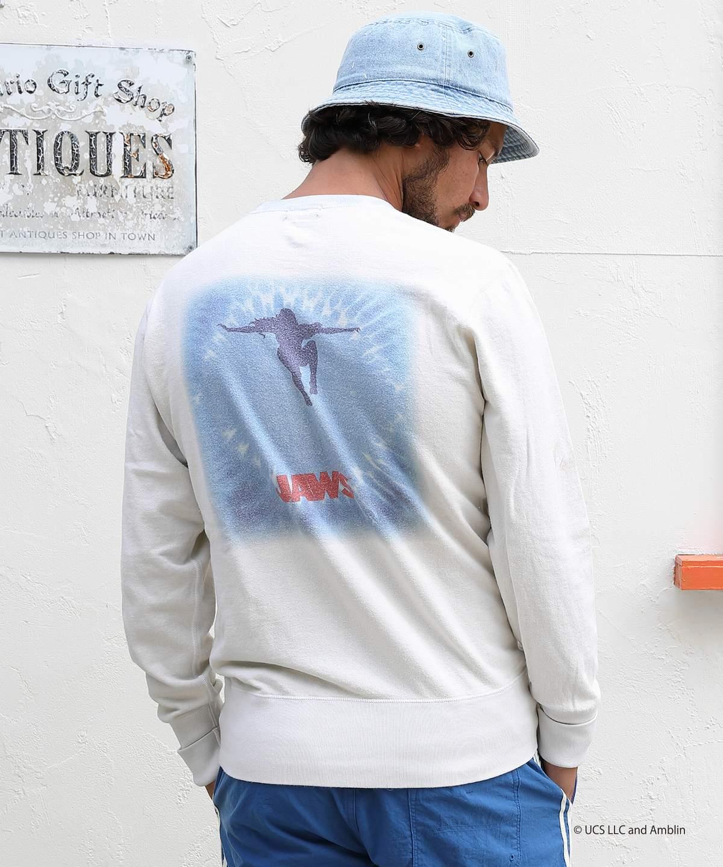 【本田礼生さん 写真集 掲載商品】JAWS×TMT GAZE MINI FRENCH TERRY PULLOVER(TSWS20JW01)