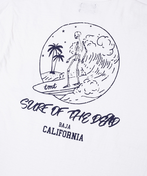 S/SL 19/1 RAFI JERSEY(SURF OF THE DEAD) TCSS18SP06 Tシャツ