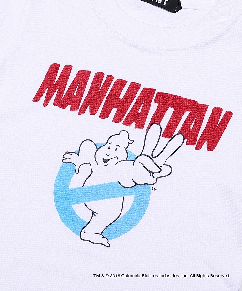 GHOSTBUSTERS×TMT KIDS TEE(MANHATTAN)TKCS19GB01