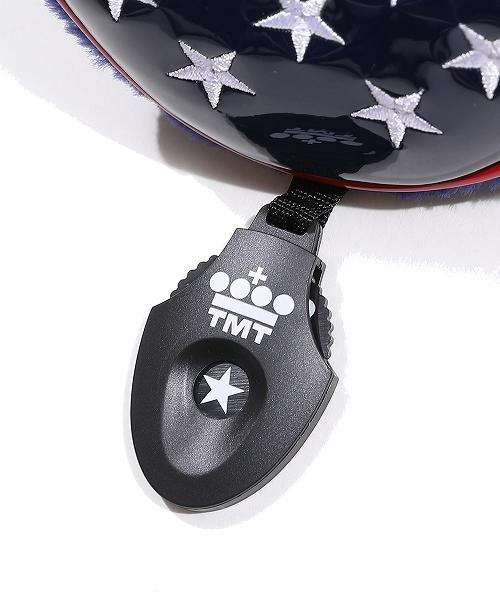 U.S.FLAG ENAMEL LETHER HEAD COVER (FOR UT)(TACF20CL03)