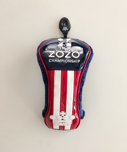U.S.FLAG ENAMEL LETHER HEAD COVER (FOR FW)ZOZO LIMITED(TACF20ZZ02)