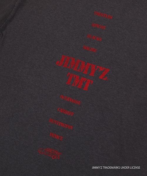 【雑誌 SURFTRIP JOURNAL 掲載商品】JIMMY'Z×TMT S/SL TEE(TROSH)TCSS19JZ01