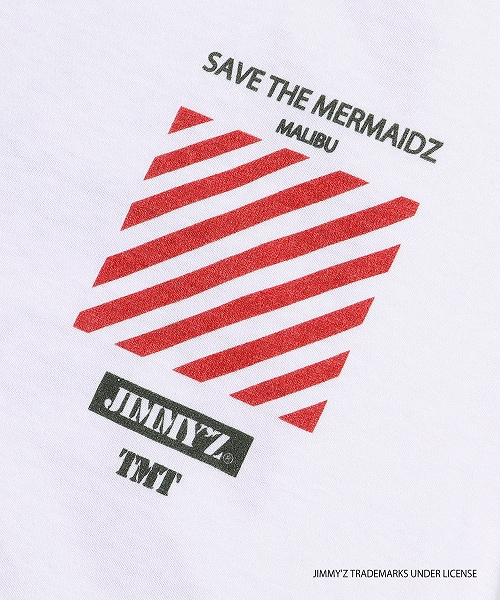 JIMMY'Z×TMT S/SL TEE(SAVE THE MERMAIDZ)TCSS19JZ03