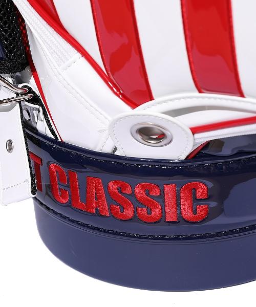 U.S.FLAG ENAMEL LETHER CADDIE BAG(CART TYPE)(TBAF20CL03)