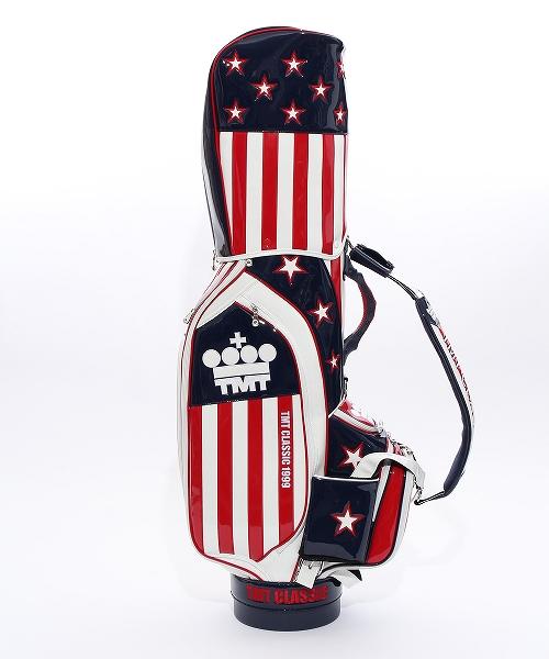 U.S.FLAG ENAMEL LETHER CADDIE BAG(CART TYPE)ZOZO LIMITED(TBAF20ZZ01)