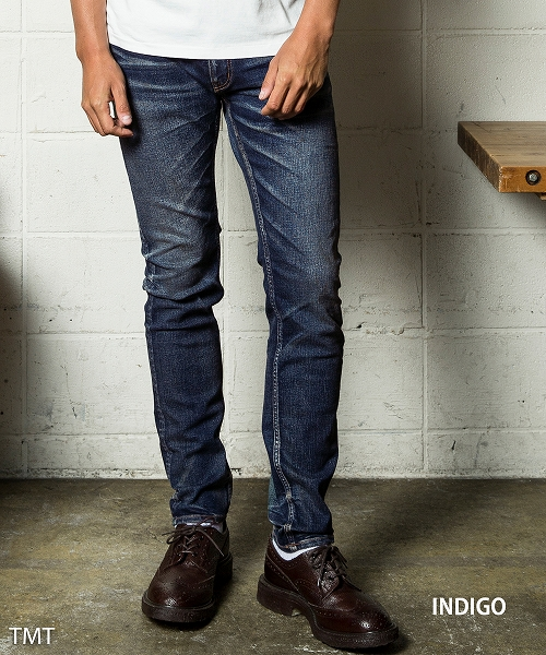 【Kis-My-Ft2 藤ヶ谷太輔さん着用】HYBRID-STRETCH VINTAGE FINISH DENIM 5P TAPERED(TPTF1805)