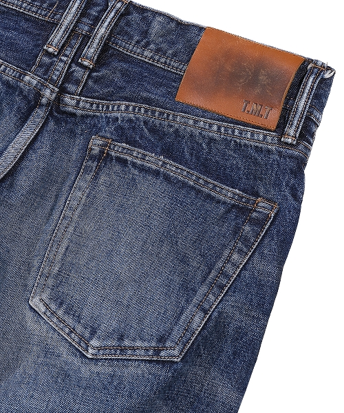 HQ DENIM 5P FRONT-POINT CROPPED TAPERED(WEB限定) TPTS21SP01