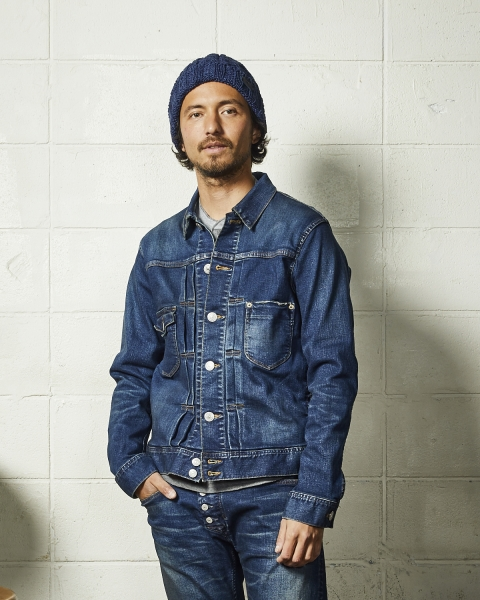 HYBRID-STRETCH DENIM JACKET-TYPE 2ND(TJKF2008)