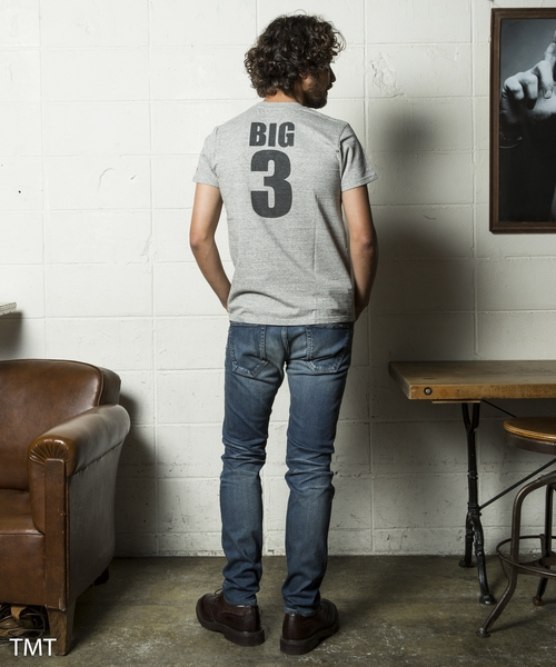 【King&Prince 平野紫耀さん着用】BRUSHED BACK-STRETCH DENIM 5P TAPERED(TPTF1808)デニム パンツ