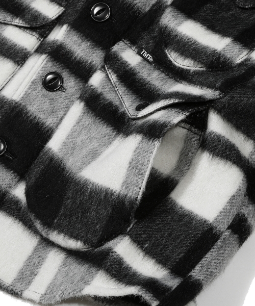 【中川大志さん着用】PLAID FUR WORK SHIRTS-TYPE JACKET (TJKF2016)